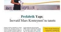Yapı Malzeme Dergisi<br /> 01 Kasım 2016