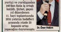 Posta Gazetesi<br /> 16 Şubat 2017