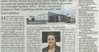 Milliyet Gazetesi<br /> 26 Aralık 2014