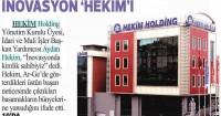 Sanayi Gazetesi<br /> 19 Ocak 2015