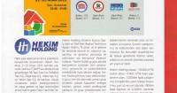 Yapı Magazin Dergisi<br /> Nisan 2015