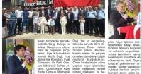Giresun Yıldız Gazetesi<br /> 12 Haziran 2015