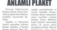 Giresun Gündem Gazetesi<br /> 03 Temmuz 2015