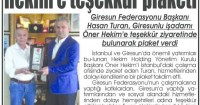 Yeni Giresun Gazetesi<br /> 03 Temmuz 2015