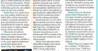 Milliyet Gazetesi<br /> 11 Eylül 2015
