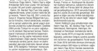 Son Saat Gazetesi<br /> 12 Mayıs 2016