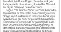 Tünaydın Gazetesi<br /> 15 Mayıs 2016