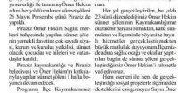 Giresun Gündem Gazetesi<br /> 28 Mayıs 2016