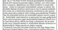 Son Söz Gazetesi<br /> 01 Haziran 2016