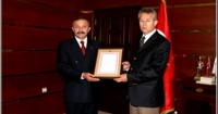 Cumhurbaşkanımız Sayın Ahmet Necdet SEZER'den Takdirname