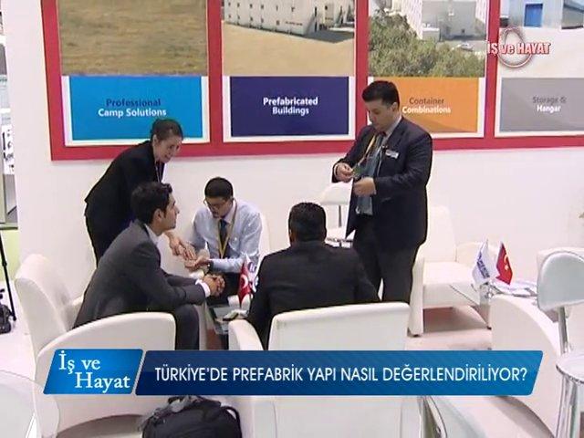 Prefabrik Yapı A.Ş. Kanal A İş ve Hayat Programı (Yapı Fuarı 2014)