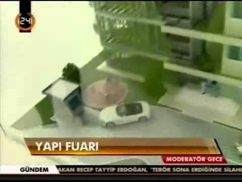Prefabrik Yapı AŞ. Yapı Fuarında Kanal 24