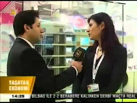 Prefabrik Yapı AŞ. Yapı Fuarında Ülke TV
