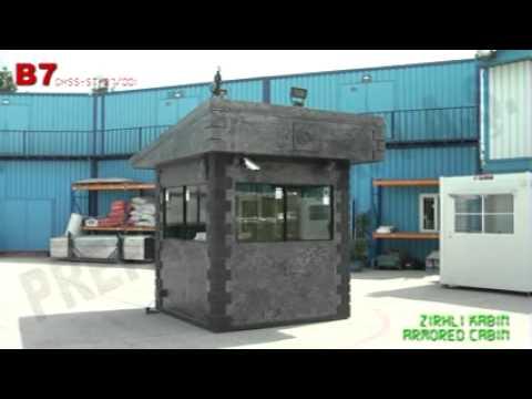 Zırhlı Kabin B7-OHSS-ST-B7-001