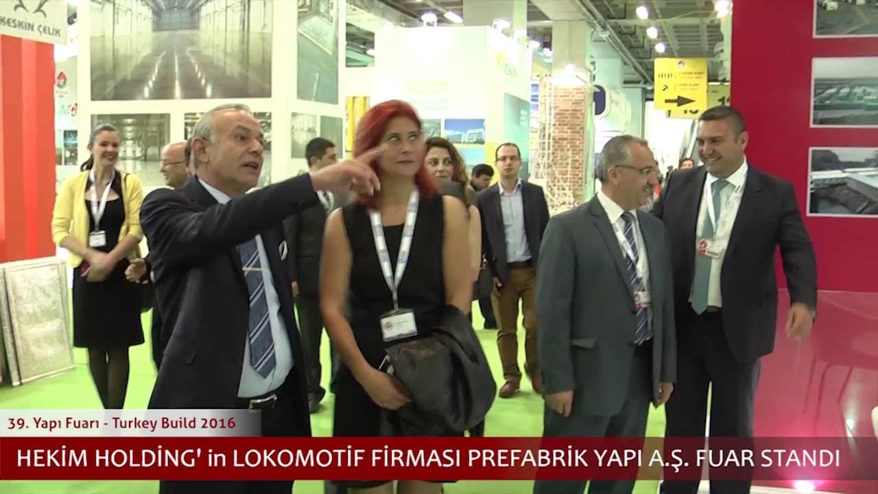 Sn. Dr. Öner Hekim'in 2016 Yapı Fuarı Ziyaretleri
