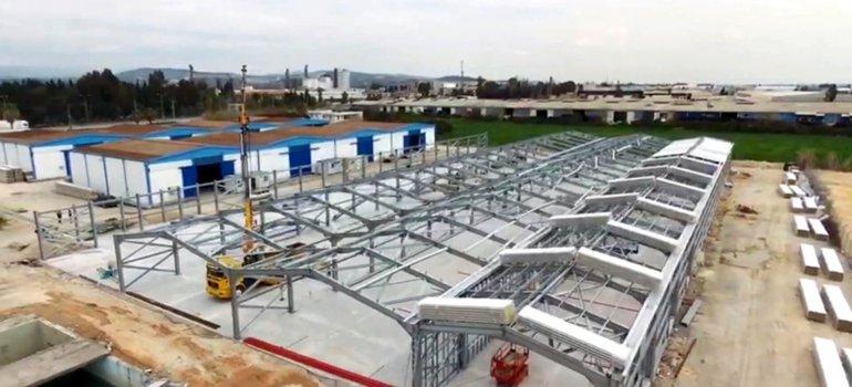 Prefabrik Yapı A.Ş. İlklerin Yapısını İnşa Ediyor