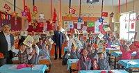 Hendek Noksel İlkokulu'na 23 Nisan Sürprizi