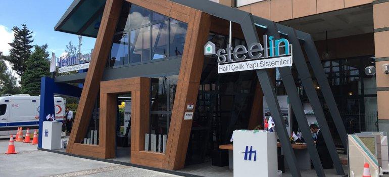 Steelin'e Yapı Fuarı'nda İlgi Büyüktü