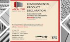 Hekim Yapı Fibercement Ürünlerine EPD Belgesi Aldı
