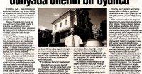 Yeni Çağrı Gazetesi<br /> 11 Ağustos 2018