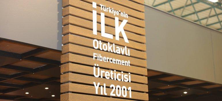 Fibercement Üretiminde Türkiyede İlk